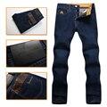 Миллиардер итальянский couture мужская джинсы 2016 Новый толстая коммерческий Мода вышивка отдыха удобные высококачественные бесплатные шипп