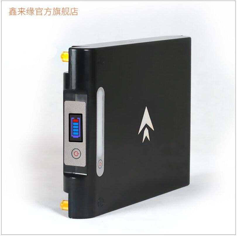Batterie Li-ion li-polymère haute puissance 100% étanche 12 V 100AH 120AH pour onduleur/démarrage de voiture/chargeur portatif de secours extérieur