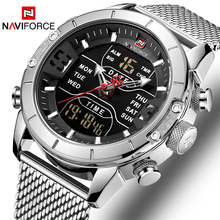 NAVIFORCE Watch Men Luxury Brand Men Quartz Sports Military Watches Digital Casual Electronic Waterproof Clock Relogio Masculino