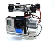 Fpv Gopro металл безщеточный камеры карданный w / мотор и контроллер, Лезвие Walkera QX350 аэросъемка