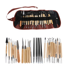 27pcs/Lot Polymer Clay Tools Ceramic Art Tools Kit Set for Pottery/Sculpting/Ceramic/Polymer Clay Carving Modelling Tool ceramic workshop clay diy paint tool set vase production educational toys clay kit pottery wheel
