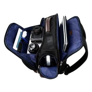 Image 3 - Americano famosa marca multi bolsos homens mochila grande capacidade fim de semana viagem de volta pacote de negócios dos homens super mochila masculino