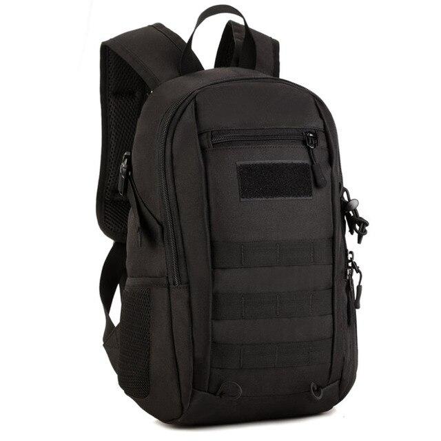 Men 1000d Nylon Shoulders Backpack Rucksack Bag Military Hike Trekking Laptop Book Mochila Backpacks