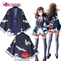 Milky Way Chinese Style fairy Crane Theme Original Haori Traditionnel Kimono Harajuku Haori Coat Yukata Jacket Average Size