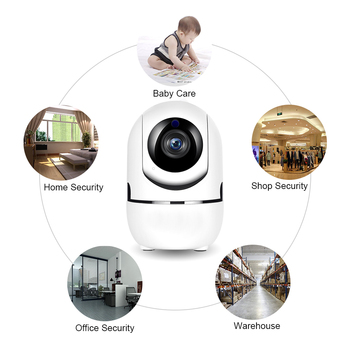 цена на WiFi Camera 2MP Home Security IP Camera Night Vision Wireless Surveillance Wi-Fi  Baby Monitor HD Mini CCTV Camera 1080P
