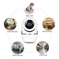 Wifi câmera de segurança em casa 2mp câmera ip visão noturna vigilância sem fio wi-fi monitor do bebê hd mini câmera cctv 1080 p