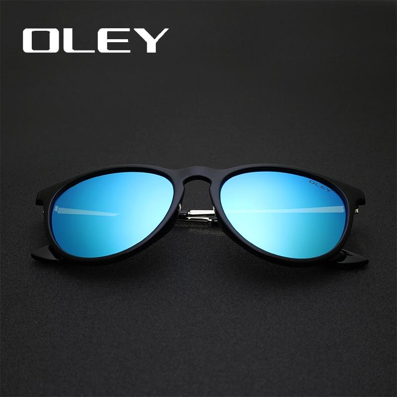 OLEY gafas de sol polarizadas mujeres estilo retro marco de metal - Accesorios para la ropa - foto 4