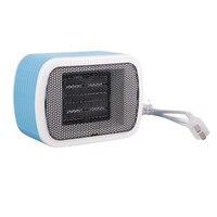 Ceramic Space Mini Stereo Heaters Electric 220V 500W Warm Winter Mini Desktop Fan Heater Forced Home