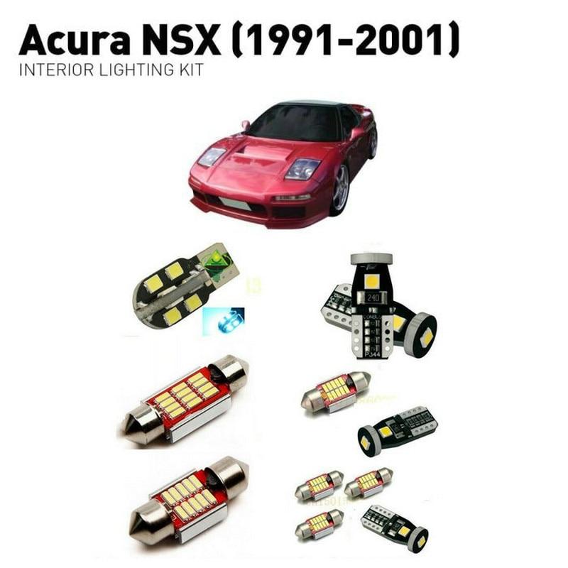 Led Interior Lights For Acura NSX 1991 2001 10pc Led