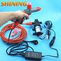 Carro portátil de alta pressão máquina de lavar pistola de água de espuma e adaptador, Para 12 V AC 100 V - 240 V Kit de lavagem de carro