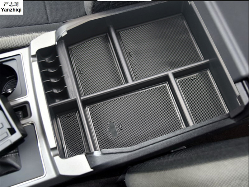15 18 Plastic Accessories Interior Center Armrest Storage Box Glove