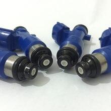Inyector de combustible E85 de alta calidad, inyector de combustible de alto rendimiento, para Nissan GTR INFINITI G37 16600-JF00A, 14002-AN001
