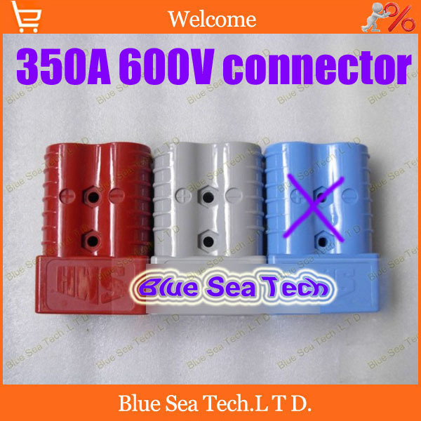 ФОТО Free Shipping 1 sets New SMH 2P 350A 600V Power Connector Battery Plug,male&female Connectors kits For forklift electrocar