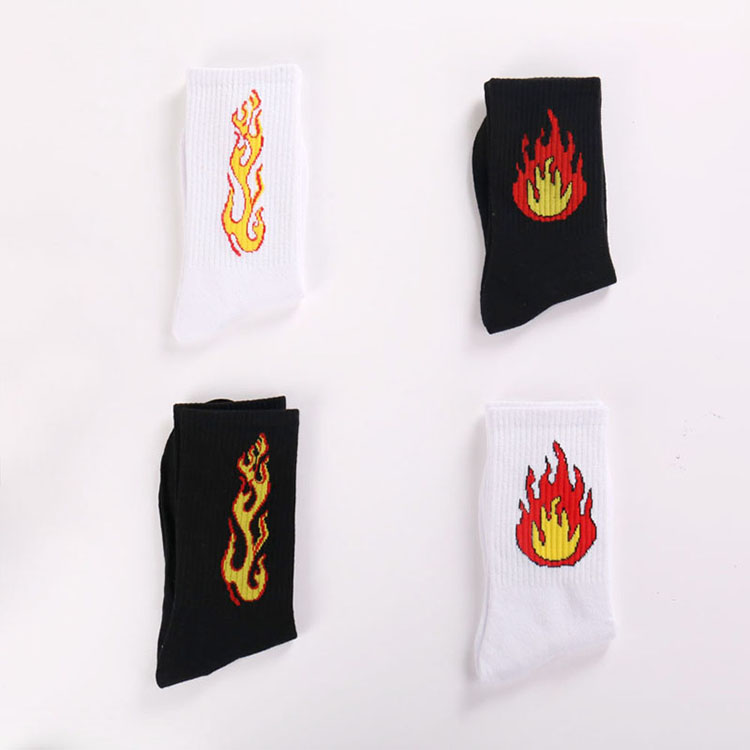 Happy-Socks-Men-Funny-Cotton-Mens-Socks-Colorful-Ankle-Rainbow-Socks-Male-Breathable-Crew-Fire-Socks(4)