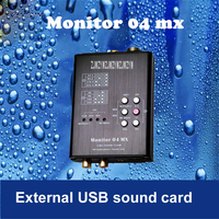 1PC New Promotions Monitor 04 MX Both USB Sound Card and Hifi Player 32 bit HD audio player/sound card USB2.0/USB3.0 Interface