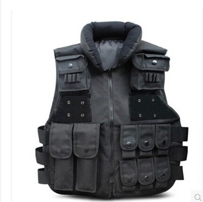 Tactical Vest Security Vest CS Field Children Vest Secret Service Special Tactical Defense Tactical Vest( br7 tactical vest dark tan custom minifigure piece