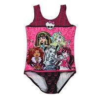 Hot Sale Girls Swimsuit 2016 Bathing Suits Digital Printing One Piece Little Girl Bodysuit Swimwear Kids