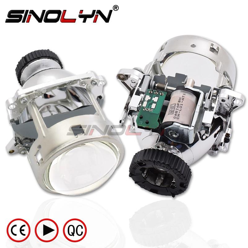 Para AL Lentes Dos Faróis Bi-Xenon Projetor Para BMW E46 M3 E60 E90 E92/Volvo S40/Benz c200 C220 CL500 CL600/Audi A1 A3 S3 A4 S4