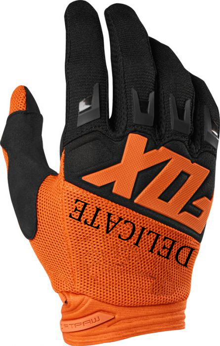 Dirtpaw 360 MX Rennen Orange Handschuhe Enduro MTB DH Motocross Moutain Bike <font><b>Racing</b></font> Handschuhe image