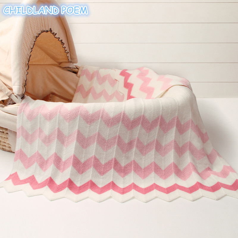 Blanket for Kids and Babies Knited Baby Blanket Newborn Woolen Handmade Sofa Throw Blanket Swaddle Wrap Crib Stroller Blanket colorful woolen yarn blanket 100 120cm hand chunky knitted braid sofa blanket thick wool bulky knitting throw dropshipping