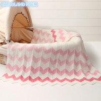 Cobertor para crianças e bebês  malha de bebê recém-nascidos  lã  feito à mão  sofá  cobertor  envoltório  berço  carrinho