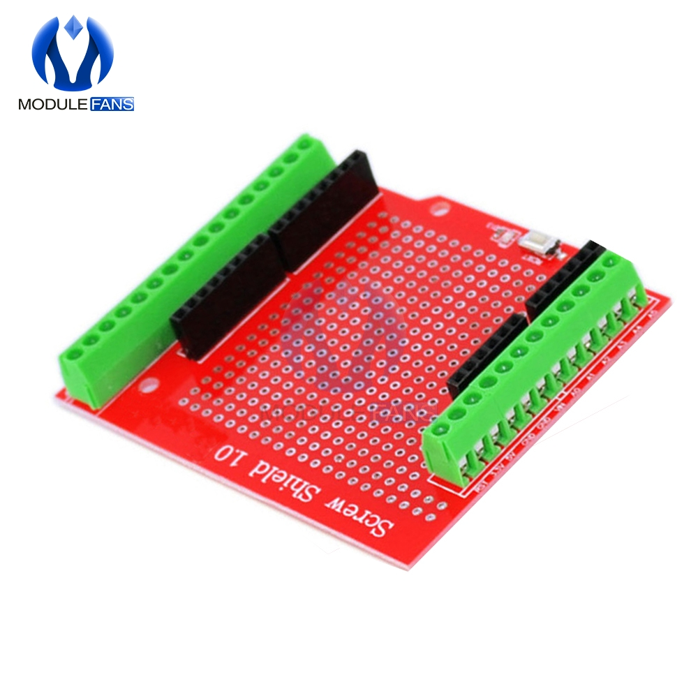 Proto Screw Shield Assembled Prototype Terminal Expansion Board Module For Arduino IO I/O UNO R3 MEGA2560 Double Side SMT Solder(China)