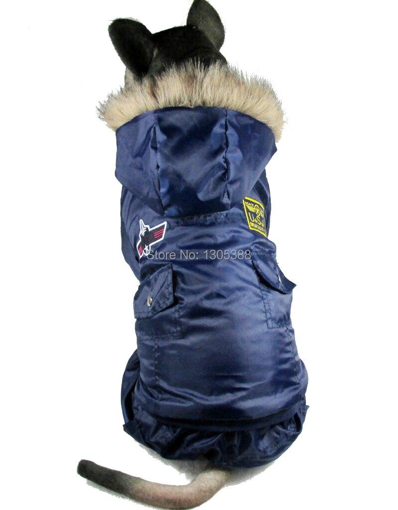 Nové Usa Airman Design Pet psi Kabát zdarma Doprava podle CPAM Medium Large Dogs Oblečení