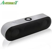 AMTERBEST Mini Speaker Portátil Sem Fio Bluetooth Speaker Sound System 3D Surround Música Estéreo Bluetooth Apoio TF AUX USB