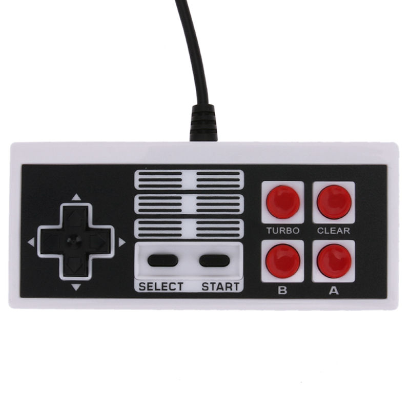 New Game Controller Wired Joypad Gaming Controller Joystick Gamepad for Nintend NES Classic Mini Edition Handle for pc retro handheld usb gamepad classic controller for saturn system style high quality wired game controller joypad for mac
