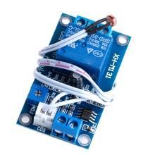 DC 12 В фоторезистор модуль реле обнаружения света Сенсор свет Управление переключатель Напряжение регулятор