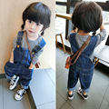 spring autumn girls overalls baby jeans girls & boys jeans jeans kids Denim overalls  jeans menina child pants baby bottoms