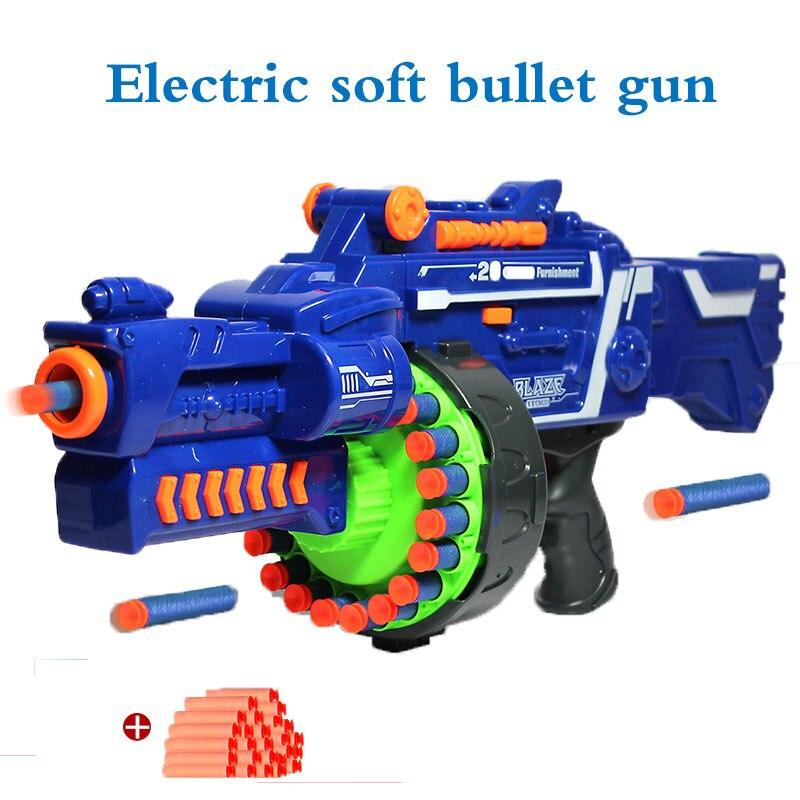 Balle molle électrique jouet pistolet Airsoft orbites pistolet Air Sniper fusil en plastique pistolet jouet pour enfants cadeaux arme appropriée