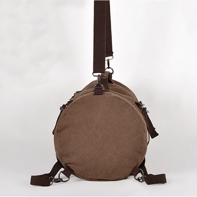 Mochila táctica militar hombre deportes multifuncional mochilas de lona de gran capacidad cubo deporte ejército bolsa gimnasio viaje mochila - 6