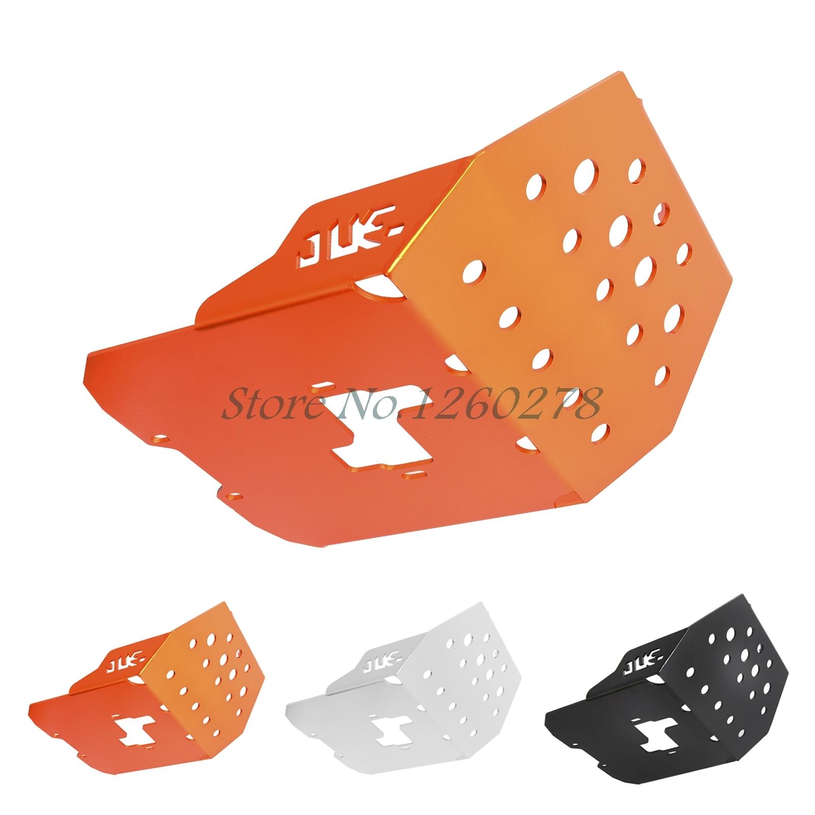 Motorcycle Glide Plate Skid Plate Engine Protection For KTM Duke 250 2015 -2016 390 2013 2014 2015 2016 motorcycle crash bar frame engine protection guard bumper for ktm 390 duke 2013 2014 2015 2016 motorcycle bumpers black orange