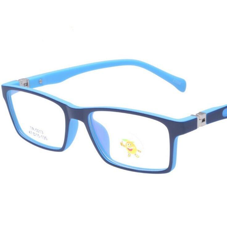 TR90 Children's Anti Computer Blue Laser laser Fatigue Radiation-resistant Kids Eyeglasses Goggles Glasses Frame Children 1021