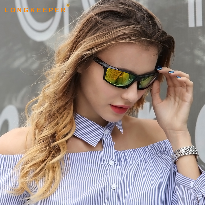 Long Keeper Promotion Polarized Sunglasses Men Brand Designer Men Goggles Glasses High Quality Lower Price Eyewear KP1005