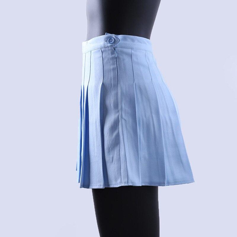 7bc16c0ceb Aliexpress.com : Buy Women Girls Short High Waist Pleated Skater Tennis  Skirt School Skirt Uniform With Inner Shorts Sport Training Skirt Tenni  Skirt from ...