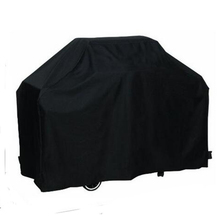 170*61*117M Outdoor Waterproof Rain BBQ Cover Garden Gas Charcoal Electric Barbeque Grill Protective Cover Black