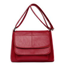 2019 New Crossbody Bags for Women Soft Leather Luxury Handbags Women Bags Designer Ladies Hand Bags Sac A Main Femme