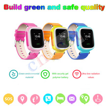 Kids GPS Smart Watch Wristwatch SOS Call Location Finder Locator Device Tracker for Baby Safe Anti