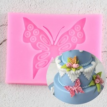 3D Silicone Butterfly-Shaped Mold Bakeware Pudding-Decor Cooking-Tools Sugar Fondant-Cake