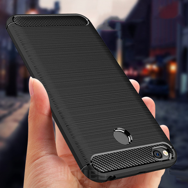 For Xiaomi Redmi 4X Case Silicone Carbon Fiber Heavy ShockProof Full Protector Fitted Soft TPU Case For Xiaomi Redmi 4X Cover