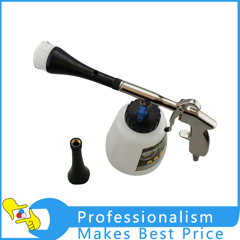 Interior Deep Cleaning Gun Multifunction Cleaning Tool With Brush high pressure air pulse car cleaning gun with brush multifunctional surface interior exterior cleaning kit eu type fast cleaning