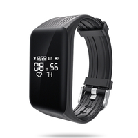 Nieuwste Fitness Tracker k1 Smart Armband Real-time Hartslagmeter down om Sec Smart Band Activiteit Tracker