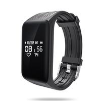 Più nuovo Inseguitore di Fitness k1 Braccialetto Intelligente Monitor di Frequenza Cardiaca in tempo Reale verso il basso per Sec Intelligente Banda Activity Tracker