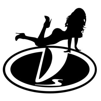 CS-1221# Vaz girl funny car sticker vinyl decal silver/black for auto car stickers styling cs 1038 15 15cm odal sign funny car sticker vinyl decal silver black for auto car stickers styling car decoration