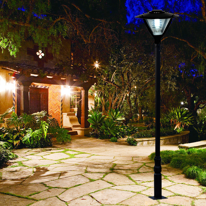 Street lamp pole landscape light pole europe garden outdoor lighting street lamp pole landscape light pole europe garden outdoor lighting poles blackbronze classical outdoor pole lamp in path lights from lights lighting aloadofball Image collections