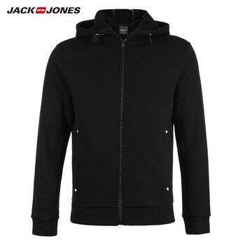 JackJones Men's Cardigan Hooded Sweatshirt Fleece Jacket Men's Hoodies Outerwear 2019 Brand New Fashion Menswear 218333524 Men Sweatshirts & Hoodies