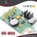 W60 HD-W60 Поддержка usb и встроенный wi-fi одного и двухцветный светодиод на панели дисплея модуль управления картой