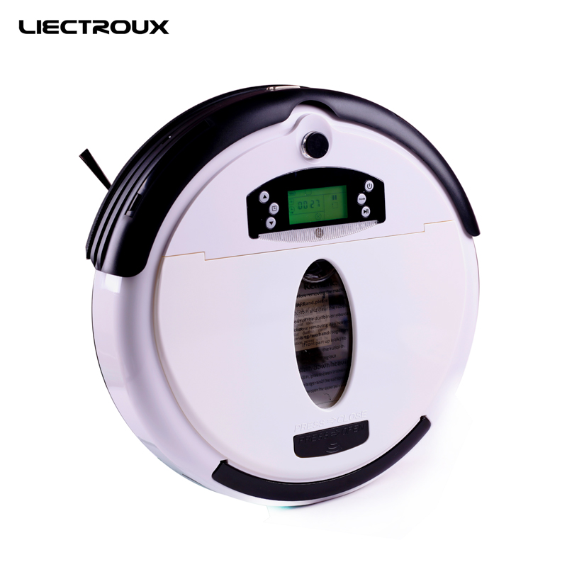 (Free to Russia) Robot Vacuum Cleaner, Multifunctional (Vacuum,Sweep,Mop,Flavor), LCD Screen,Virtual Blocker,Schedule,SelfCharge